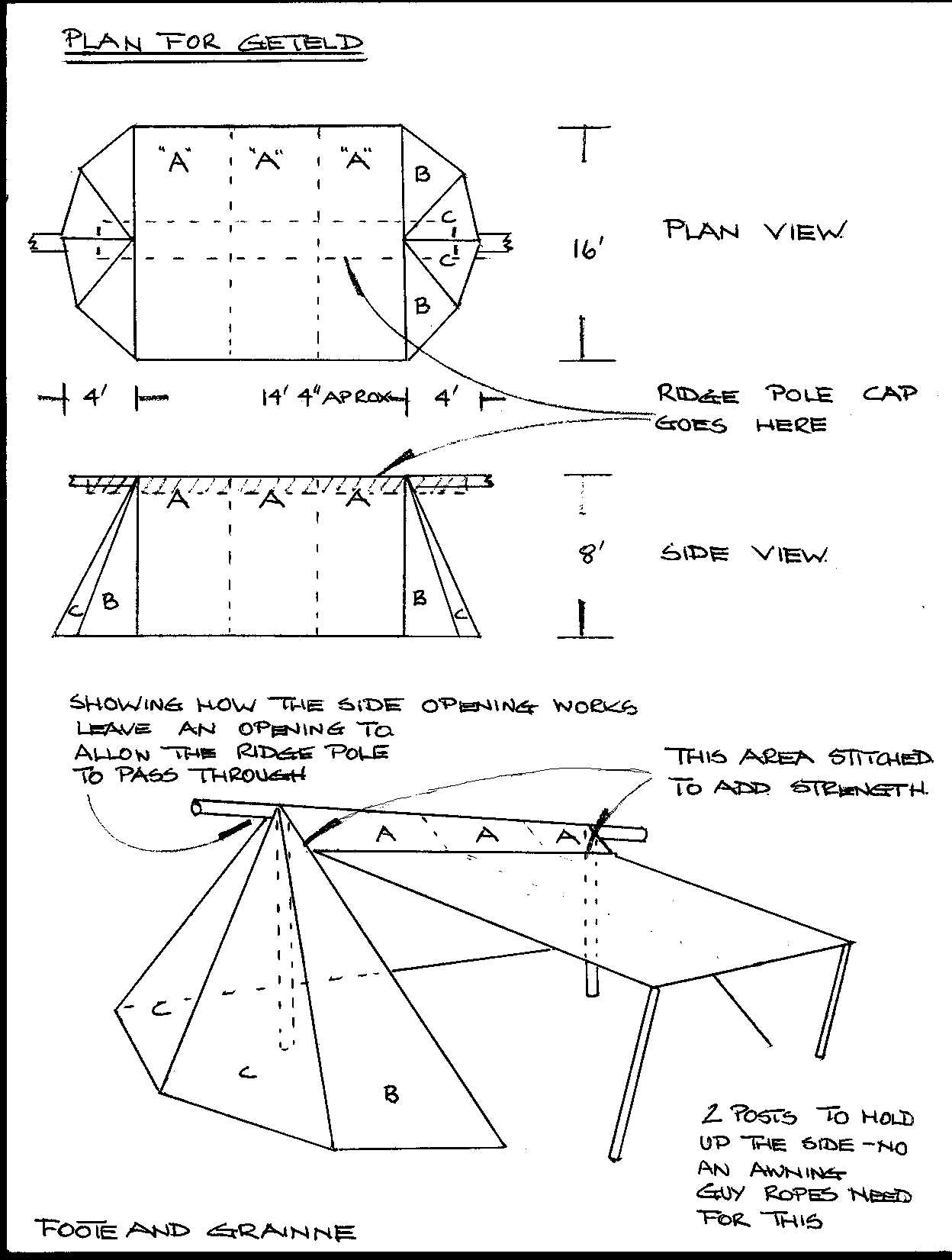 Geteld tent pattern Not garb but worth the pin  sc 1 st  Pinterest & http://regia.ca/getelds/Geteld_plan_A.jpg | Home: Medieval ...